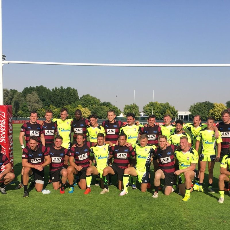 MP7s OFF TO A SOLID START ON DAY 1 IN DUBAI