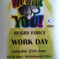 Rugby Force Work Day