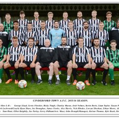 CINDERFORD TOWN  A.F.C.  2015