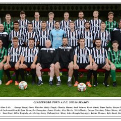 CINDERFORD TOWN A.F.C.  2015/16