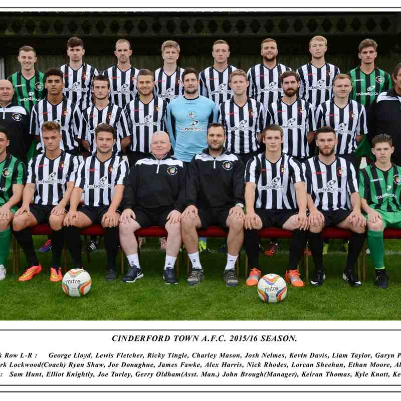 Cinderford Town FC 2015/16
