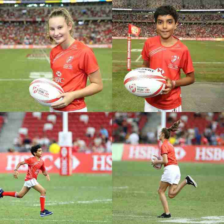 TRC at the HSBC Singapore Rugby 7s
