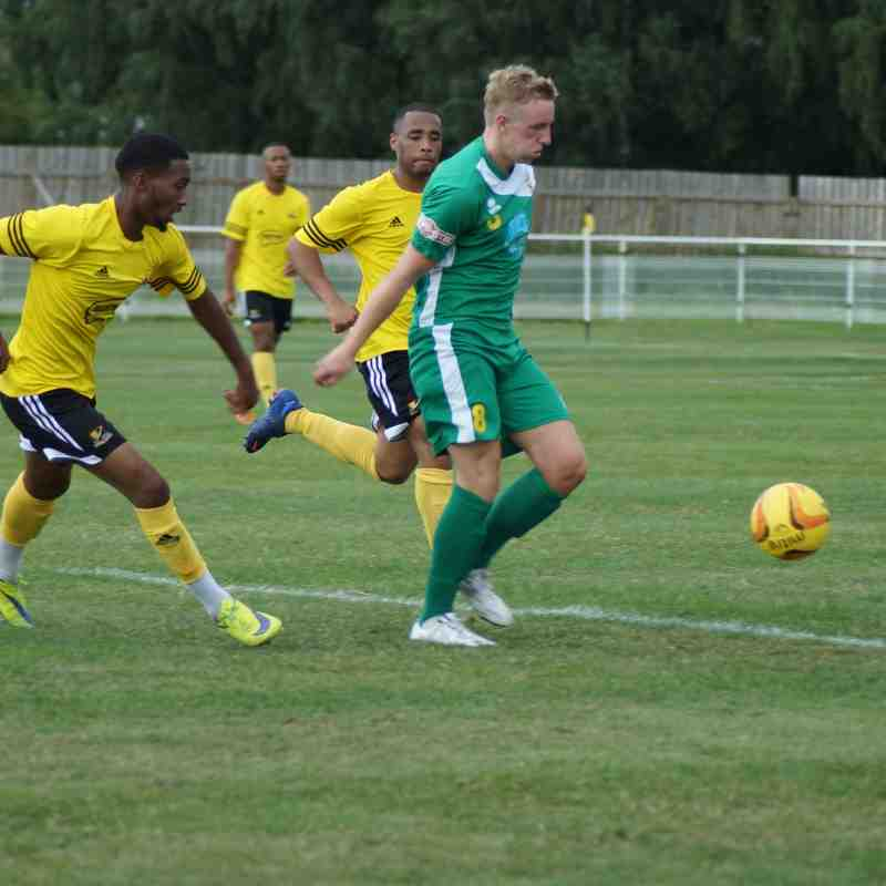 Basford United v Brighouse Town - 08/08/15 - Pre-Season Friendly
