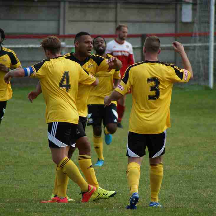Backs To The Wall As United Snatch Late Winner At Gresley (Video now online)