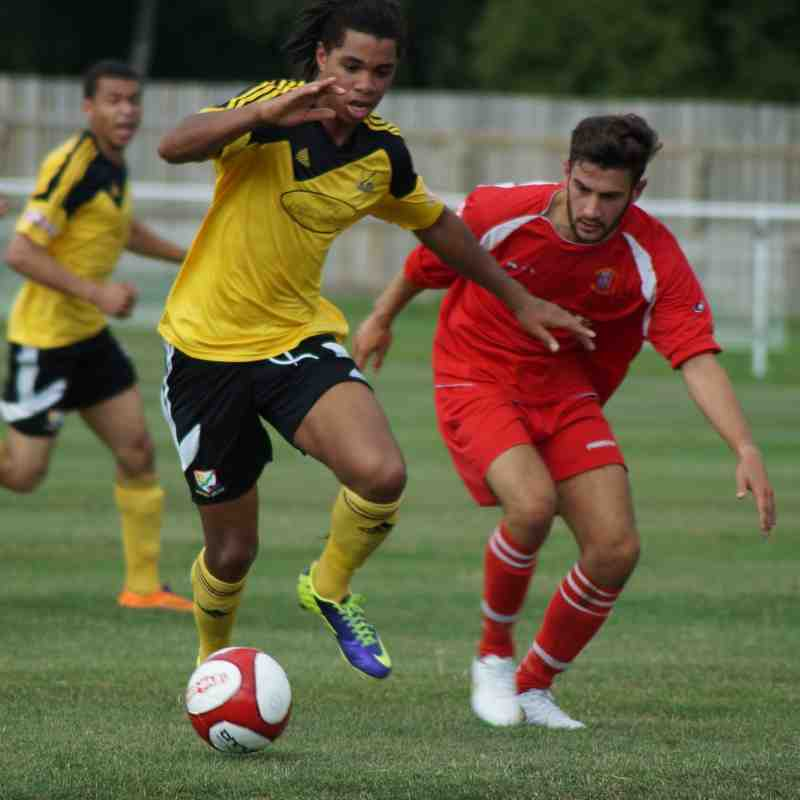 Basford United 1 Stocksbridge Park Steels 2 - 22/08/15