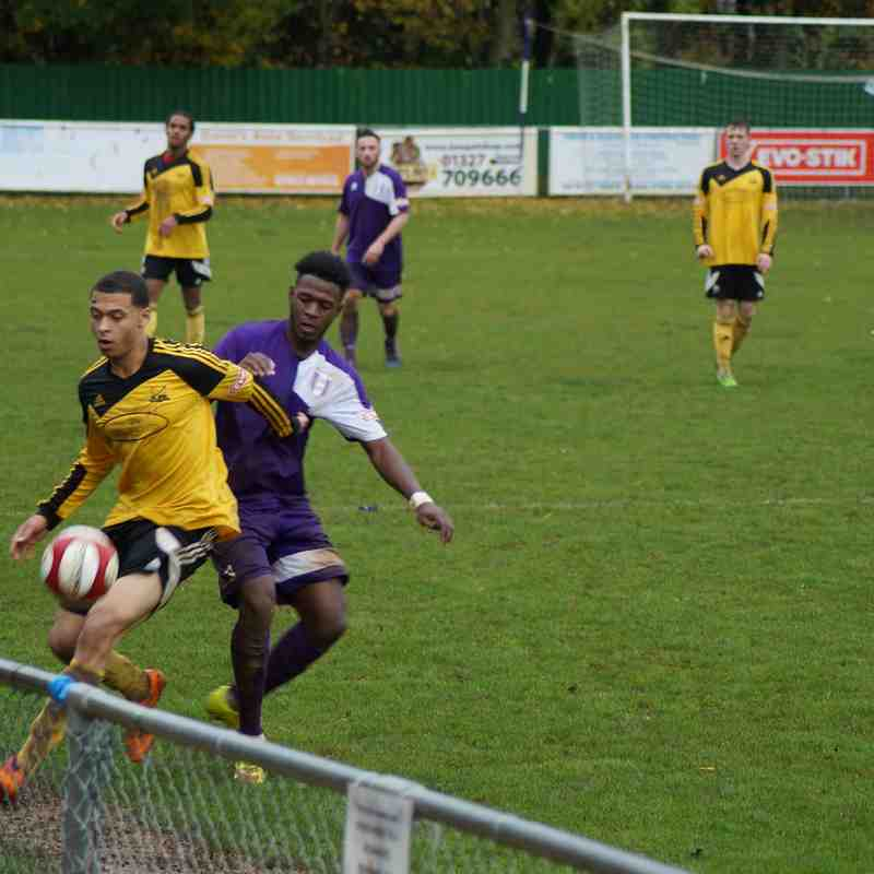Daventry Town 0 Basford United 2 - 24th October 2015