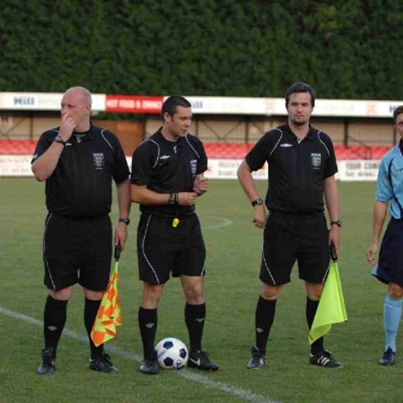 Histon v CUP, 01 August 2012