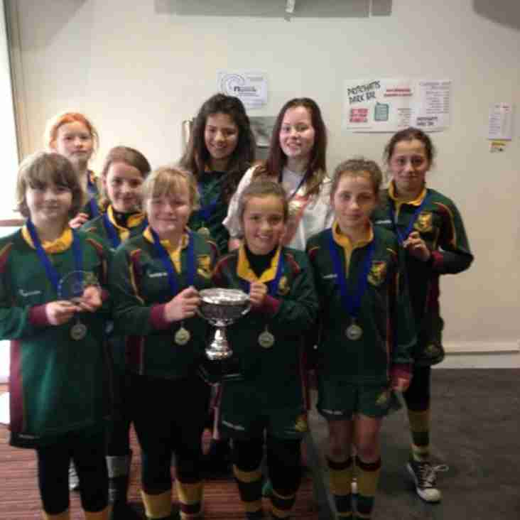 Girls Win Fair Play Trophy