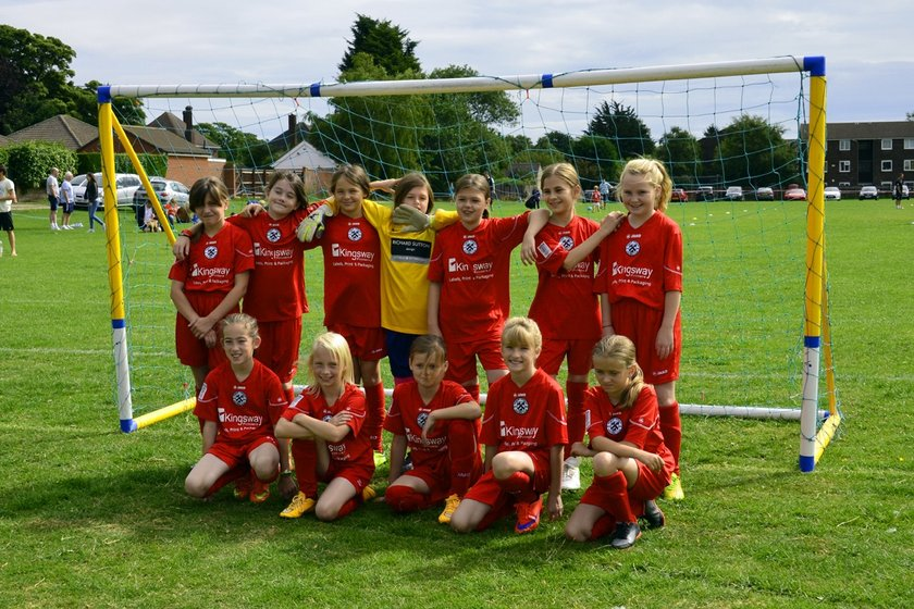Under 12's Girls RedJacks beat Winterton Rangers 4 - 3