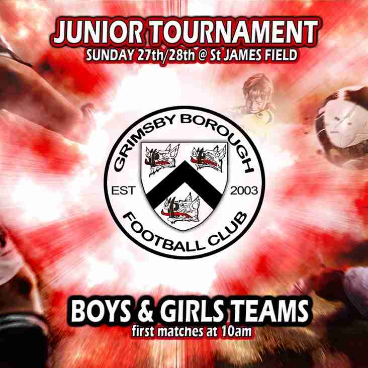 Junior Tournament this weekend