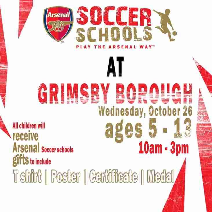 Arsenal Soccer School Returns!