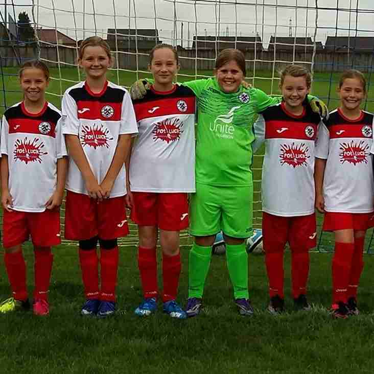 Girls u12's have a promising start