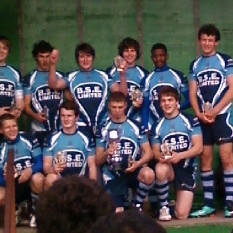 Jonathon Davies Trimsaran Winners 2011