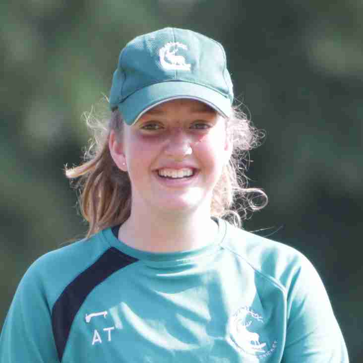 Berkshire Girl in the National Festivals U14 Tour to Barbados