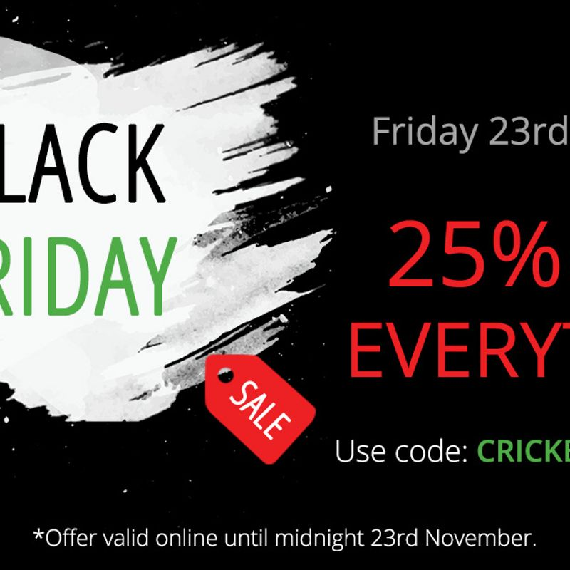 [Kit Sponsor] Serious Cricket Event this Fri 23 Nov 2018