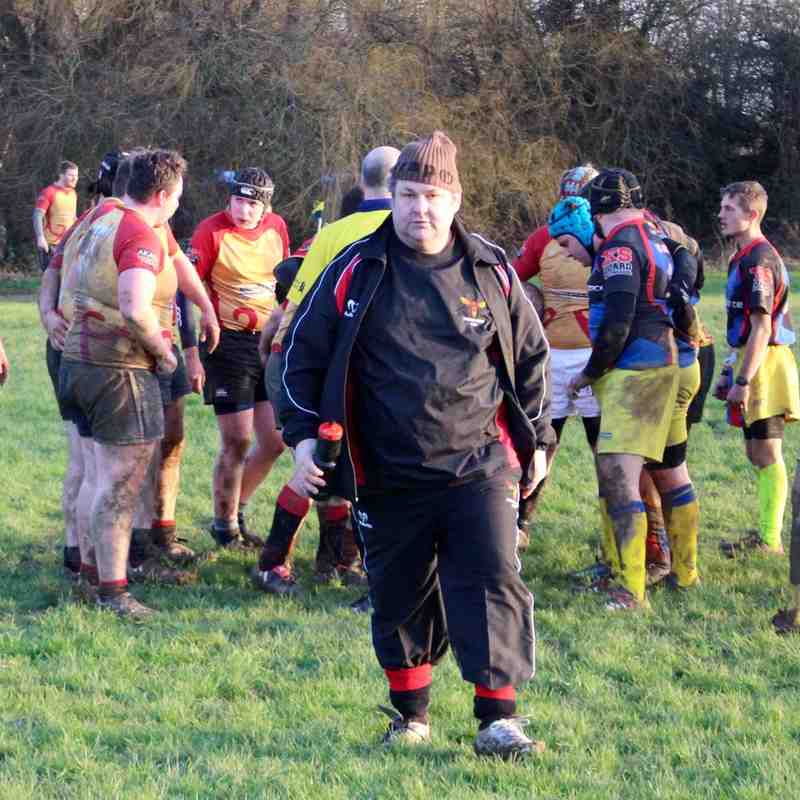 Phoenix 3rds v Hillingdon Abbots Saturday 16th January 2015