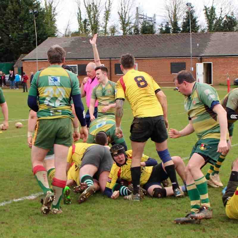 Beaconsfield 3rds v Phoenix 3rds Saturday 9th April 2016
