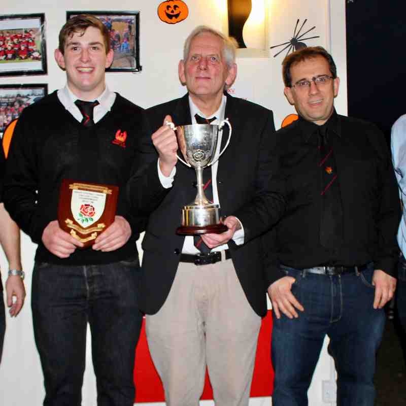 Peter Trunkfield Cup Presentation - Buckinghamshire Club of the Year