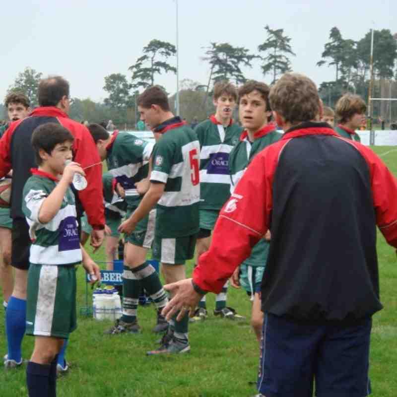 Tadley Vs Reading U15s 16 Oct 2011