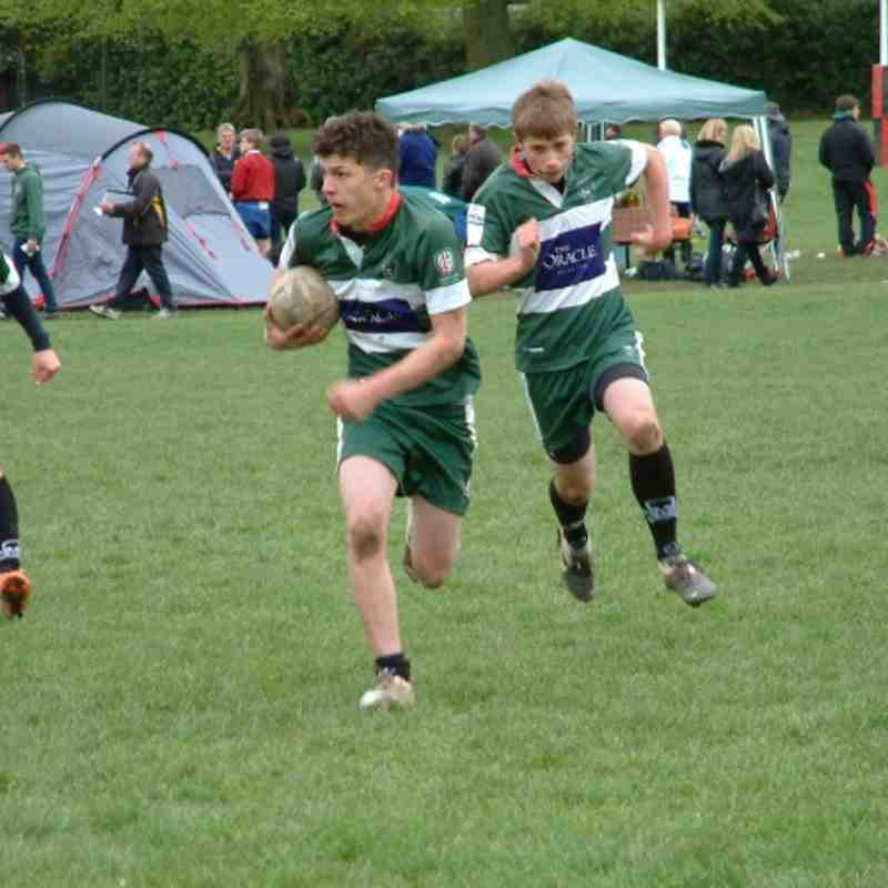 U15s Alton 7s Tournament 6 May 2012