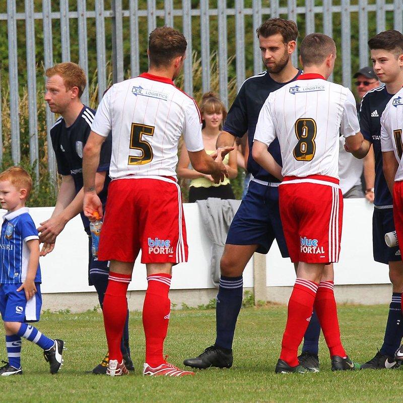 Retford FC 2-3 Sheffield United XI