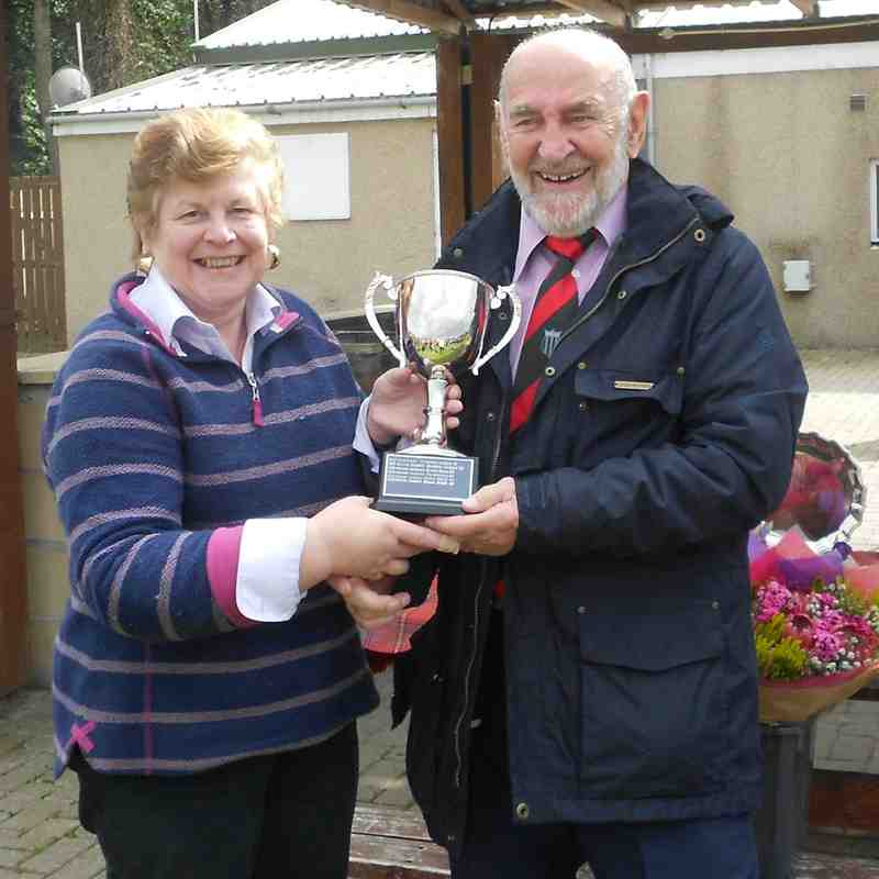 Dr Donny Innes Cup for the Oldest Player - Fred Crowe, 76