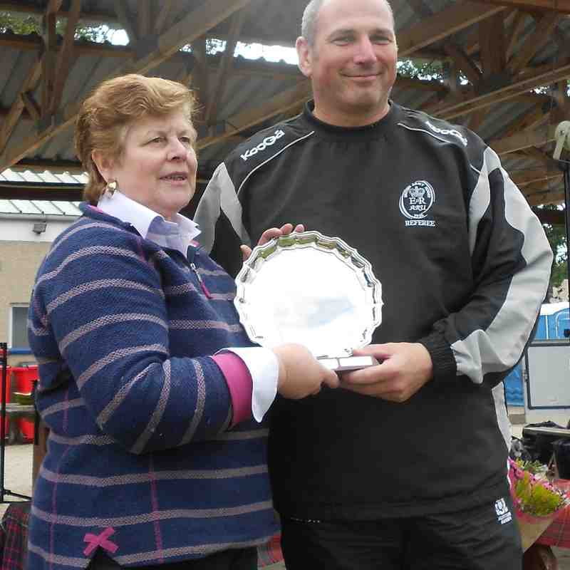 Ref Award - Dave McKerval