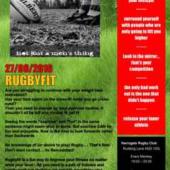 Fun & fitness for the ladies with RugbyFit!!