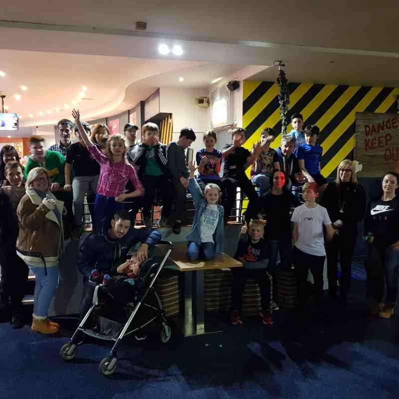 Northwich Mini & Juniors Bowling Night