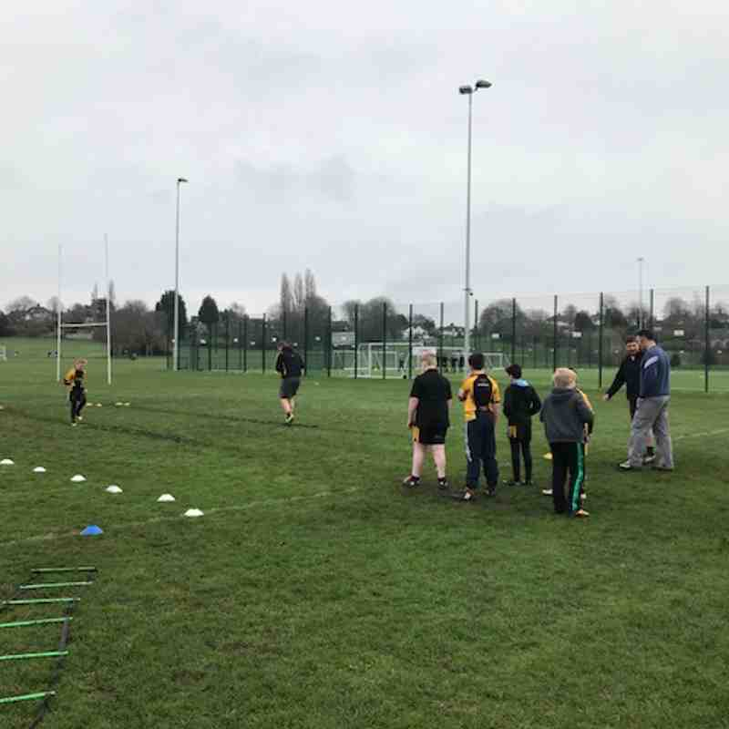 Northwich U11s Training Morning