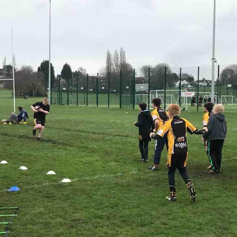 Northwich U11s Training Morning