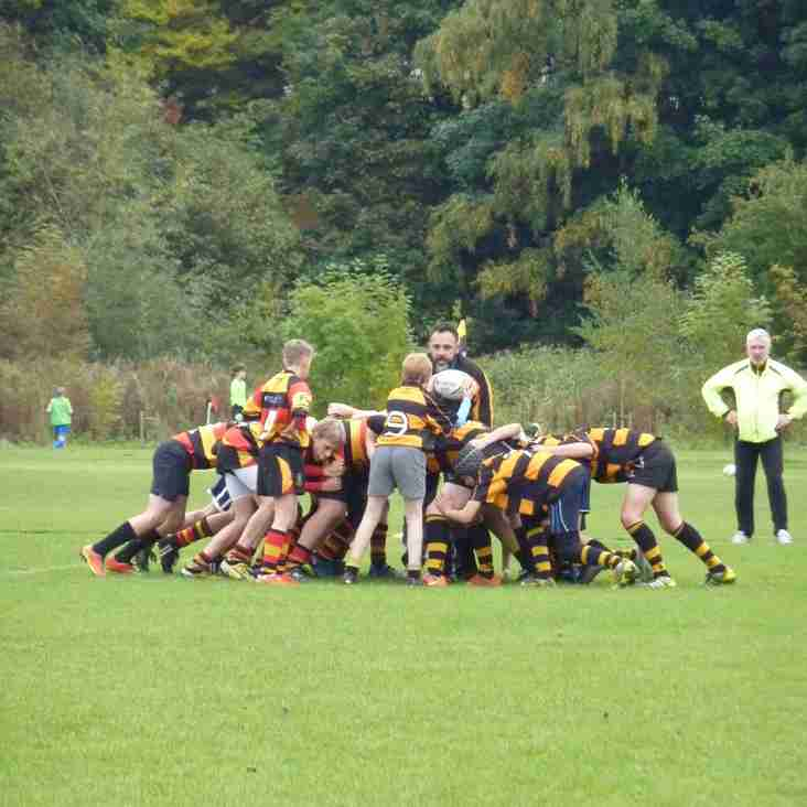 Didsbury Toc H U14s away to Southport RFC in our JRC Match 2