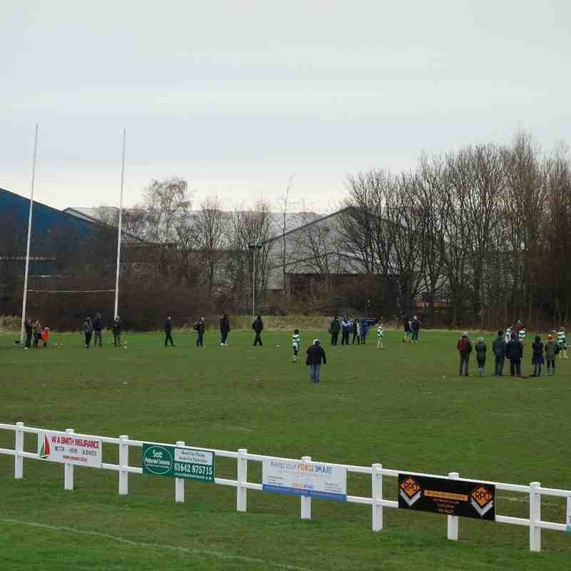 Minis and Juniors in action 31st January 2016