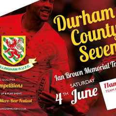 Entries flooding in for County 7s