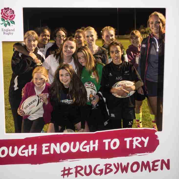 Women encouraged to meet their 'inner warrior' at Billingham Rugby Club
