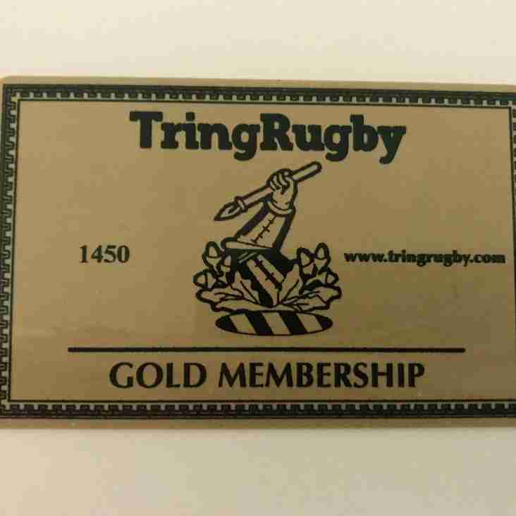 Go Cashless at TringRugby
