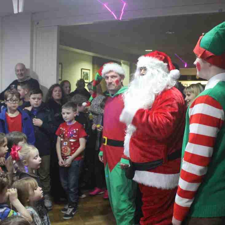 Santa & His Elves Visit The Stute