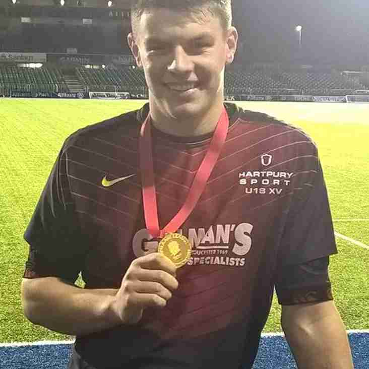 Ex Gosport Youth Player Is A Champion