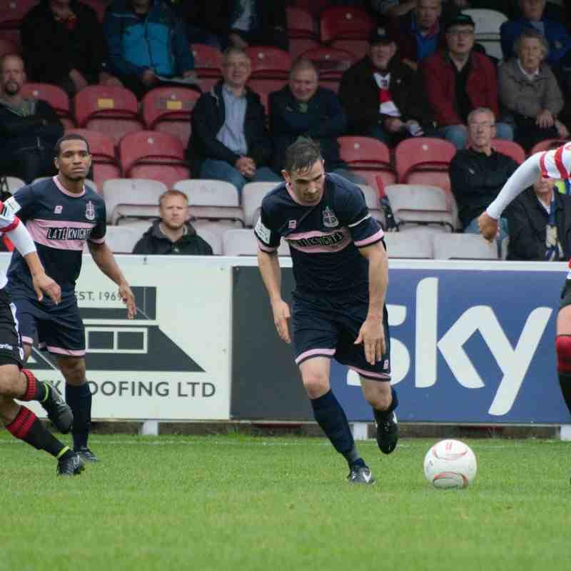 Kingstonian FC (0) vs Dulwich Hamlet (3)