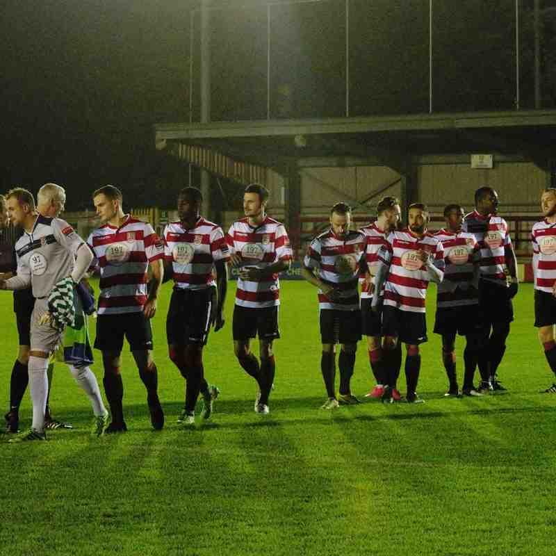 Kingstonian FC (2) vs (1) Farnborough. 9th November 2015.
