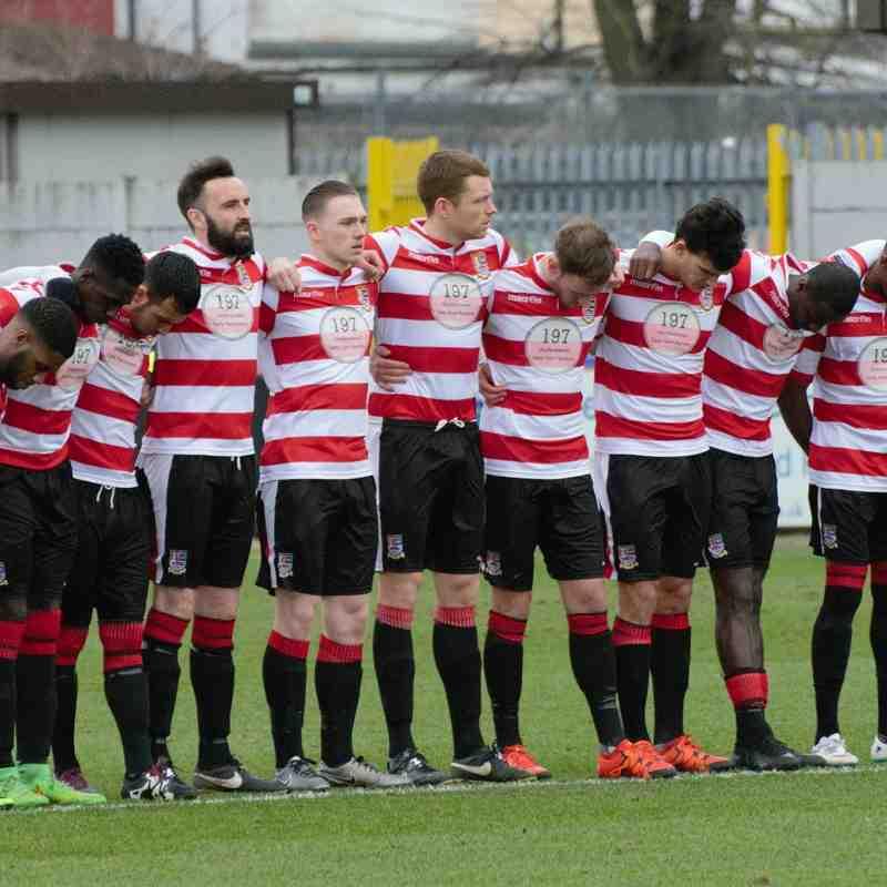 Kingstonian FC (2) vs (1) Grays Athletic. 6th February 2016