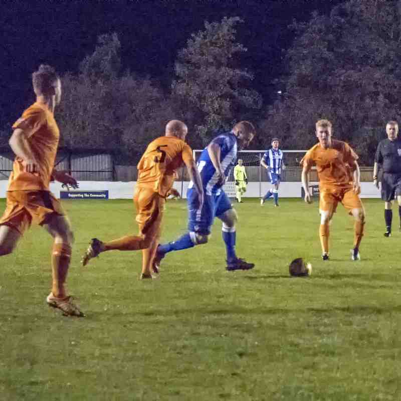 City Security Services Limited League Challenge Cup v Hartley Wintney October 16 2018