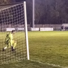 City Security Services Limited League Challenge Cup v Hartley Wintney October 16 2018 - the penalty shoot out