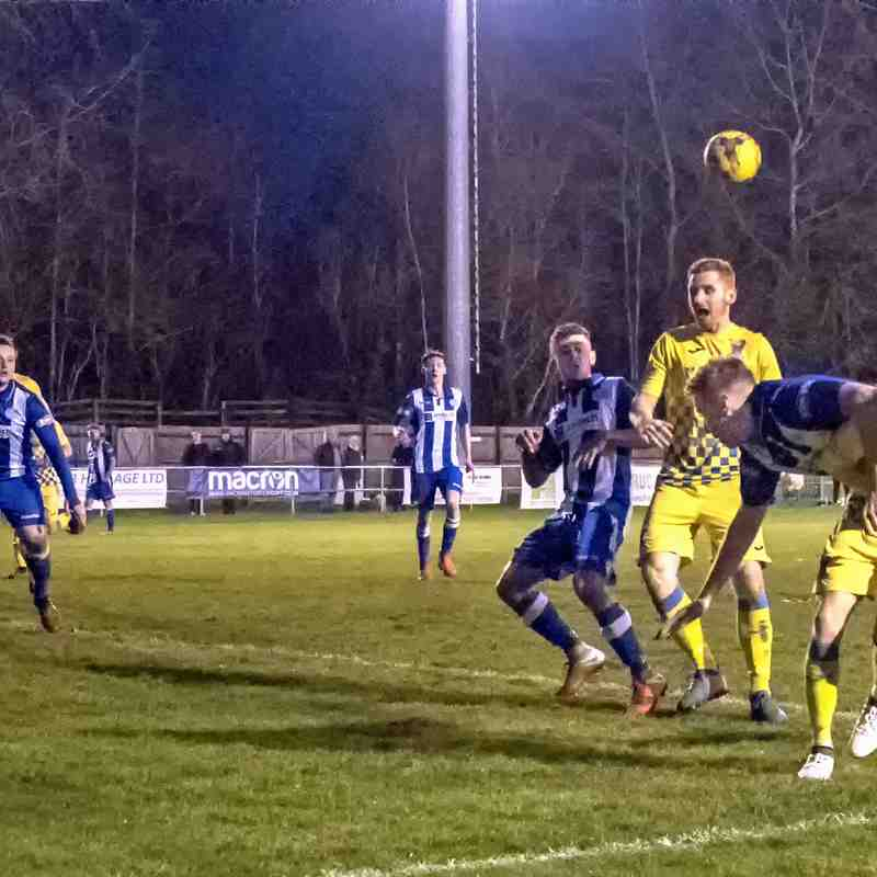 TTFC V AFC Totton 1 January 2019