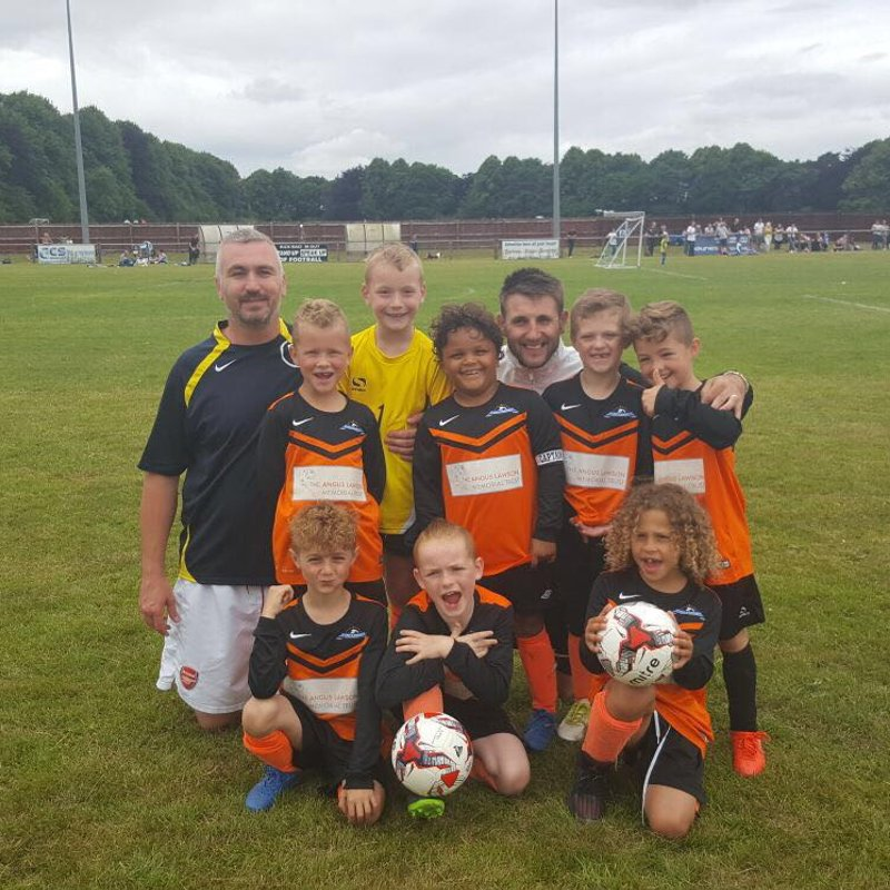 Under 8's  lose to Ravenshead Red Fc 0 - 4