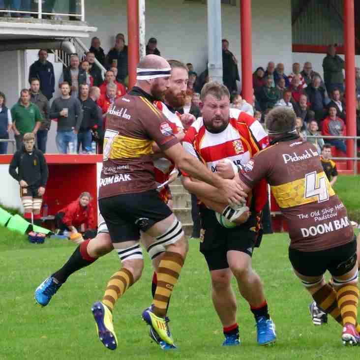 St Austell 16 v Wadebridge 17 - Match Report