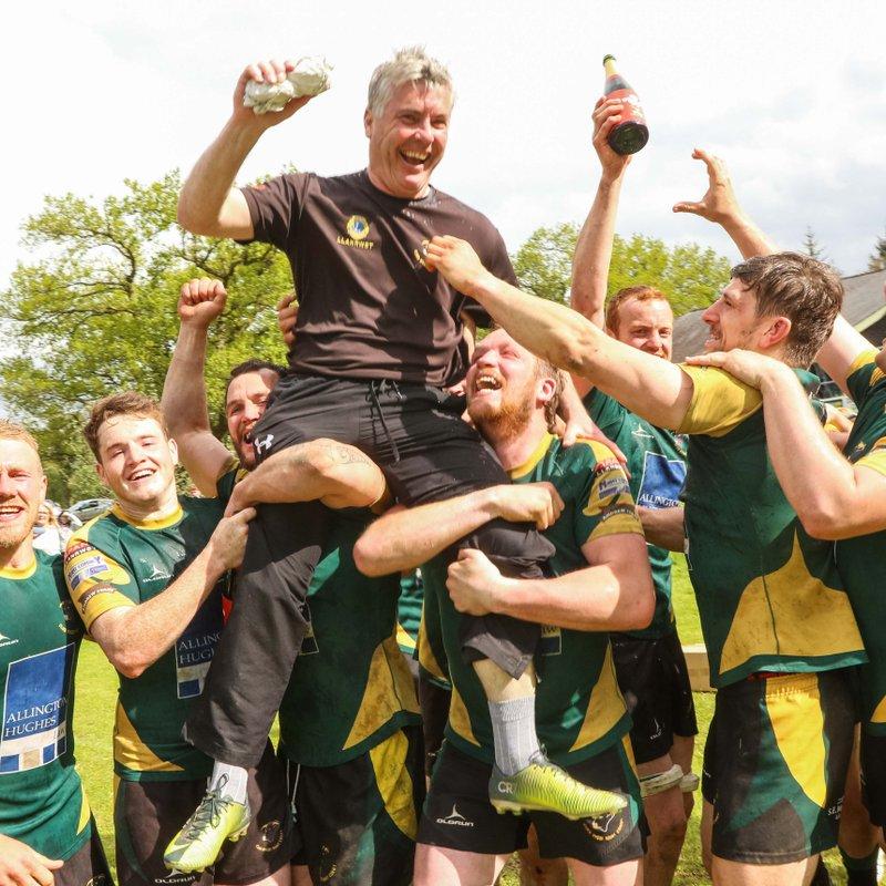Pencampwyr Gogledd Cymru - Rhanbarth 1  :  Presentation of Divison 1 North Champions