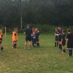 U11's 1st training session 28th August