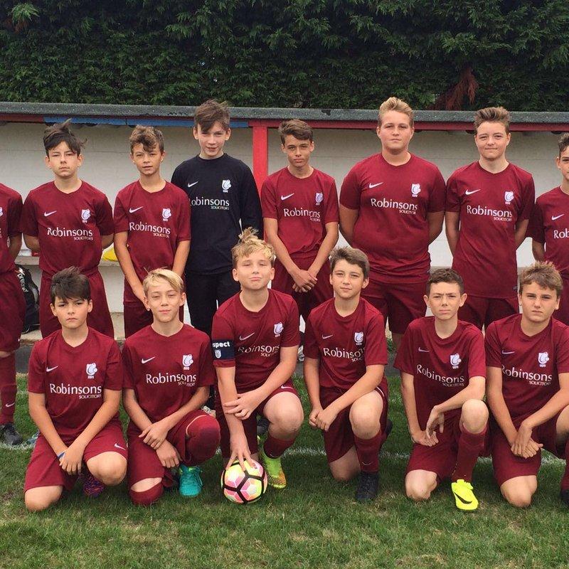 City U16s Kick Off with a Win