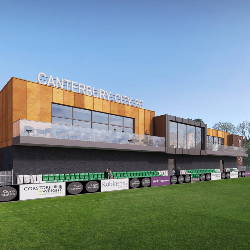 Kentish Messenger Unveil Highland Court Stadium Design